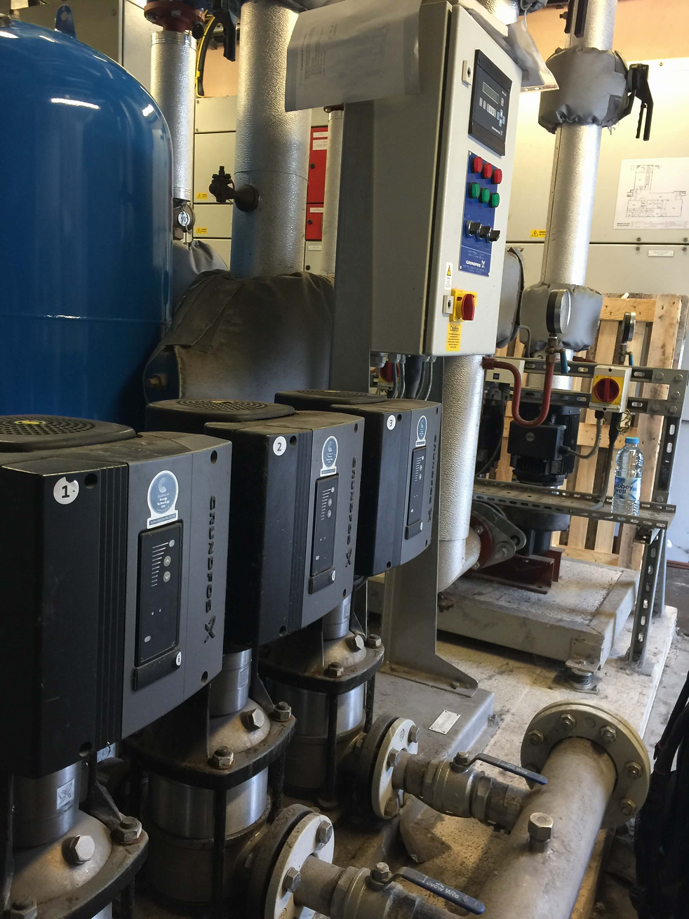 Booster Sets and Pump System Maintenance at DWP Services